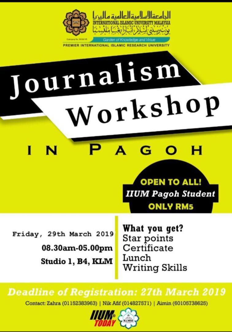 Journalism Workshop