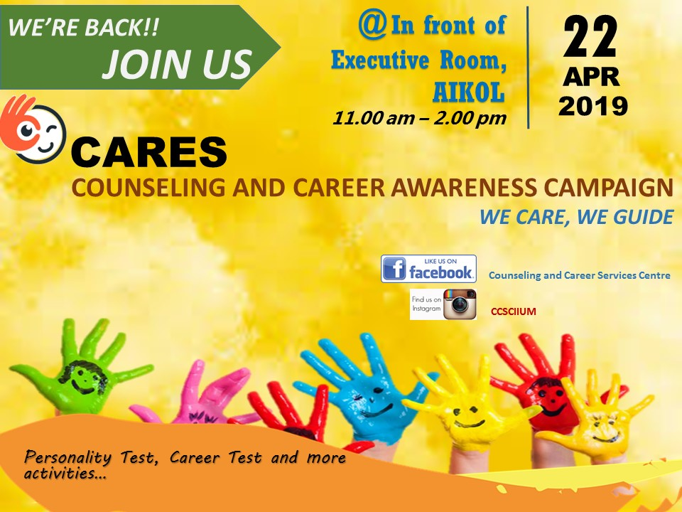 COUNSELING AND CAREER AWARENESS CAMPAIGN