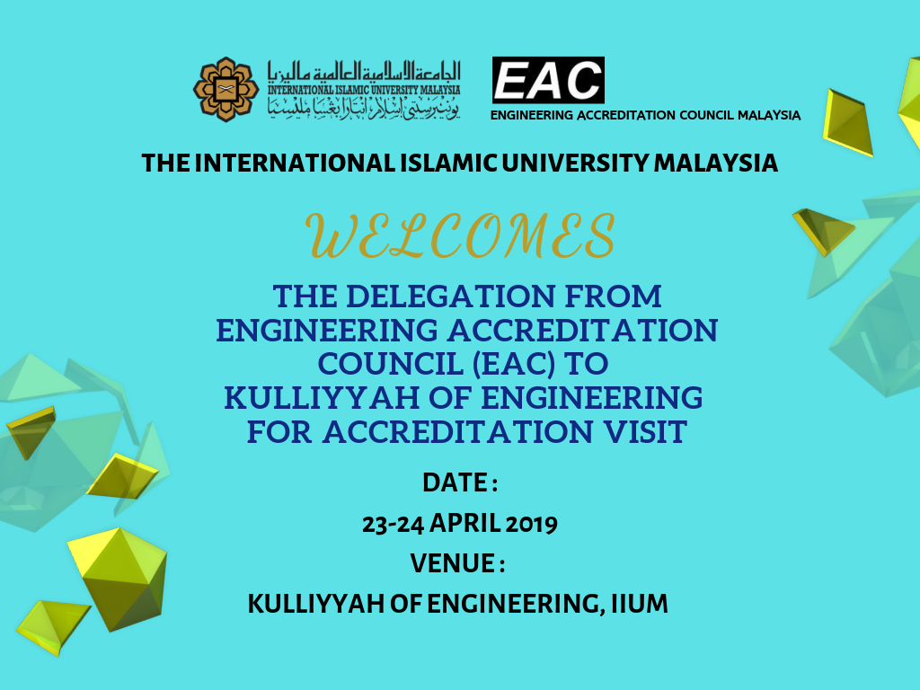 Accreditation Visit for KOE from Engineering Accreditation Council