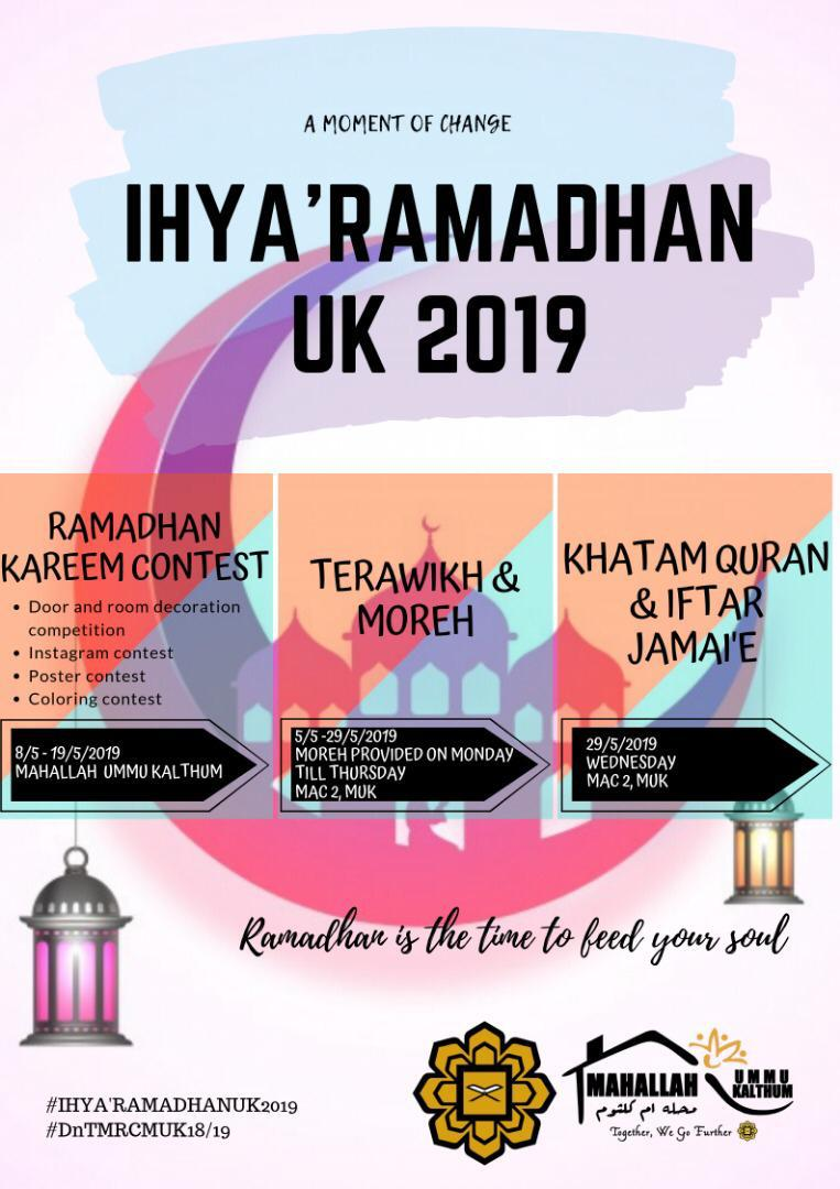 Ihya' Ramadhan: A Moment of Change