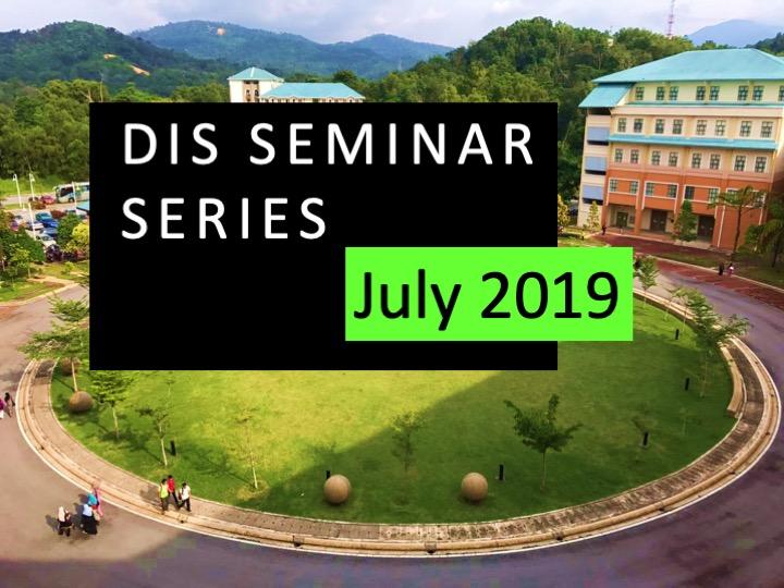 DIS Seminar July 2019