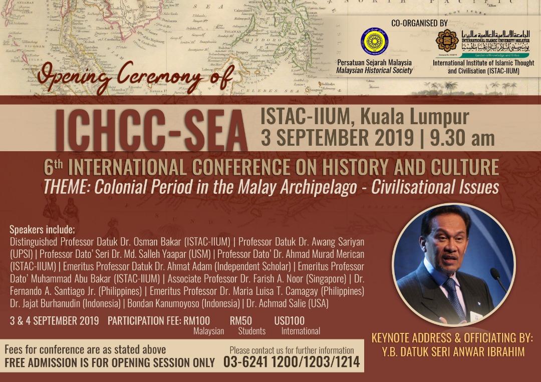 OPENING CEREMONY OF ICHCC-SEA
