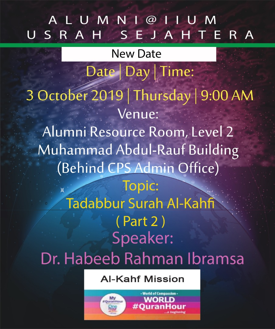 Alumni @ IIUM - Usrah Sejahtera