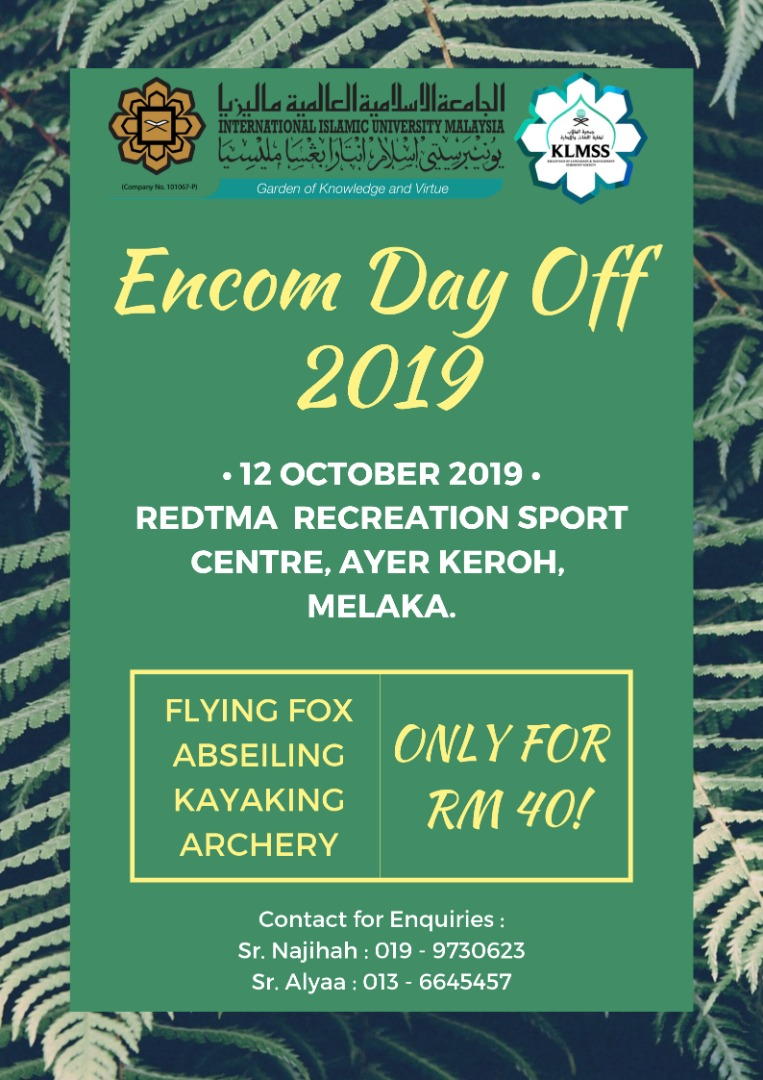 ENCOM Day Off 2019