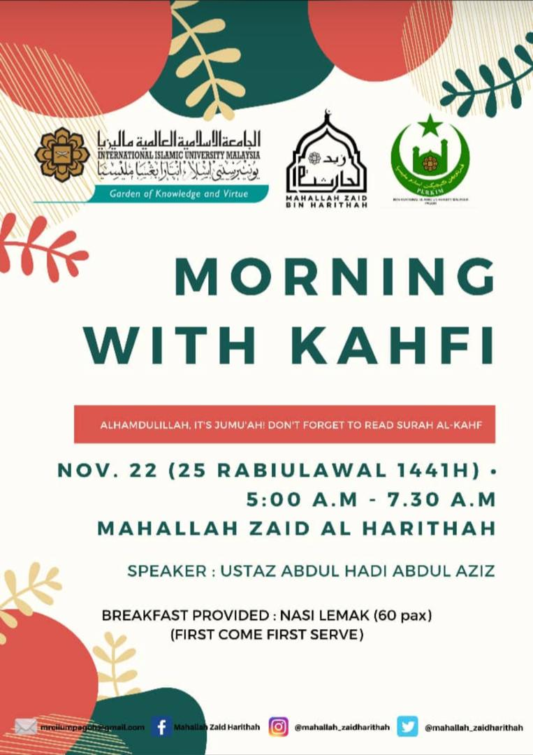 Morning With Kahfi