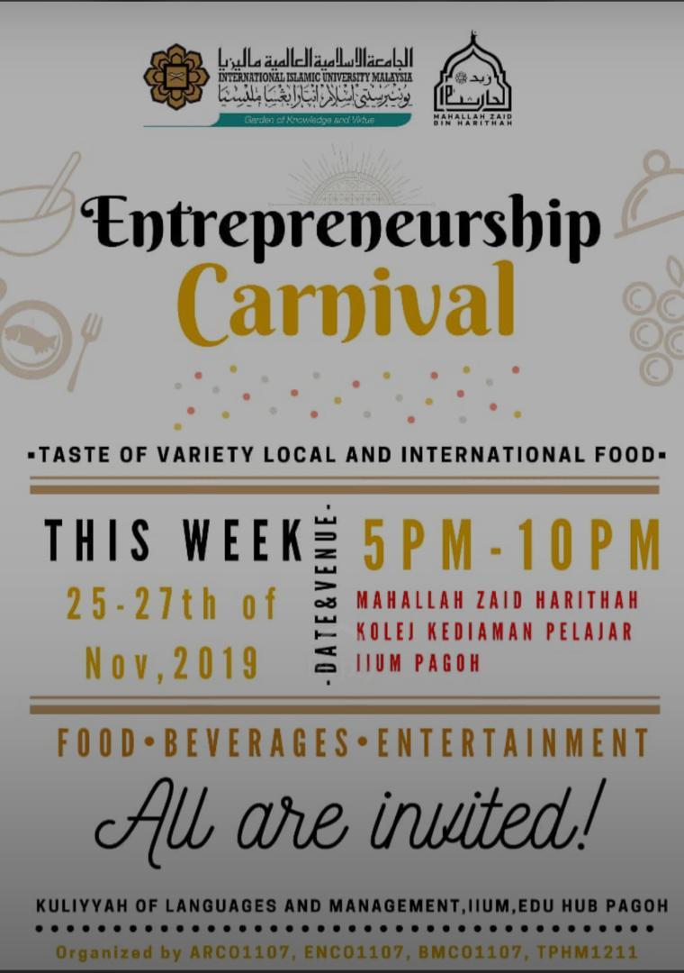Entrepreneurship Carnival