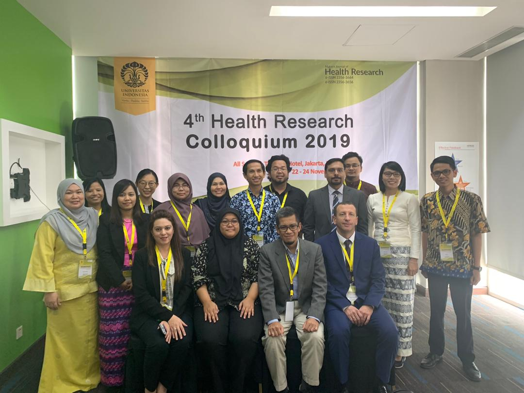 Representatives from Kulliyyah of Nursing to 4th Health Research Colloquium 2019