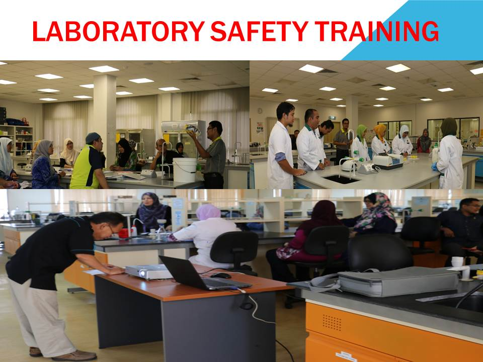 Laboratory Safety Training for Chemistry Department, IIUM CFS Gambang Campus