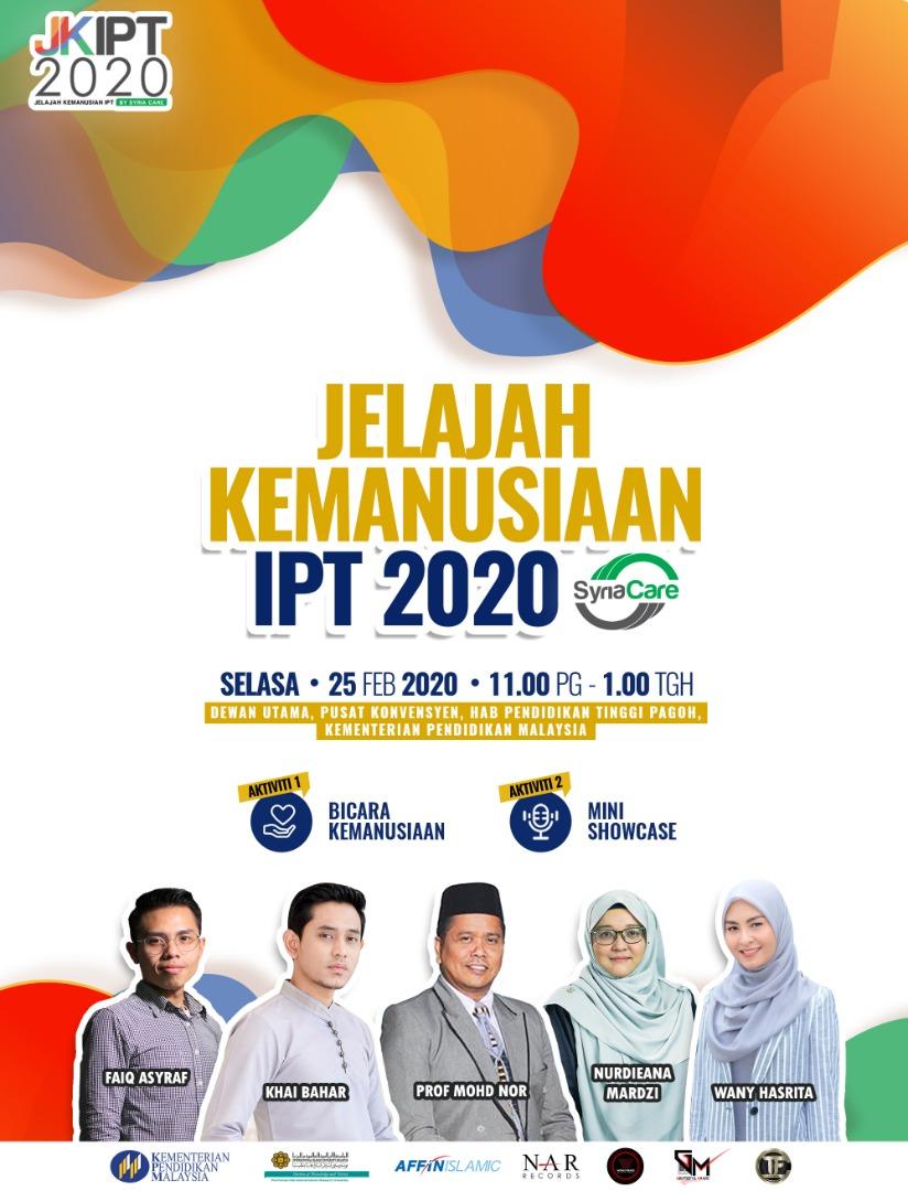 Jelajah Kemanusiaan IPT 2020